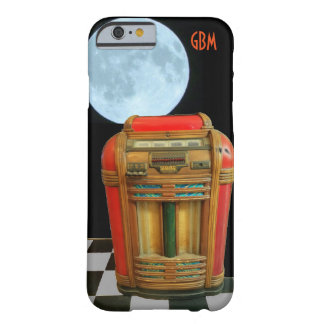 Antique Classic Jukebox with Full Blue Moon Barely There iPhone 6 Case