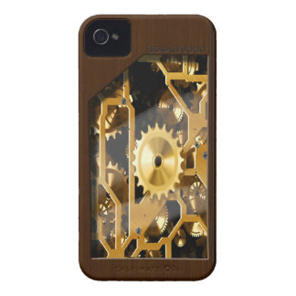 antique clock gears Case-Mate iPhone 4 case
