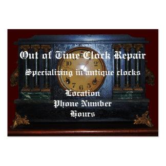 Antique Clock Repair Business Card