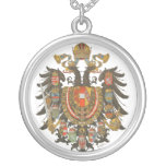 antique coats of arms medal jewelry