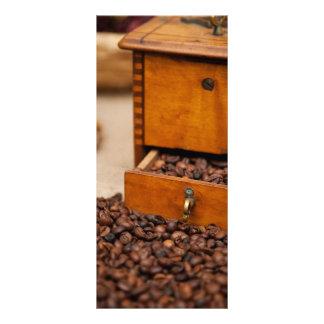 Antique Coffee Bin/Grinder Bookmarks Full Color Rack Card