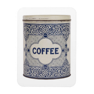 Antique Coffee Can  Photograph Premium Magnet