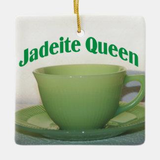 Antique Collectibles Jadeite Queen Ceramic Ornament