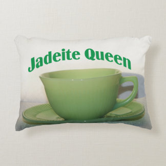 Antique Collectibles Jadeite Queen Decorative Pillow