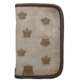 Antique collection of Royal Crowns Organizers