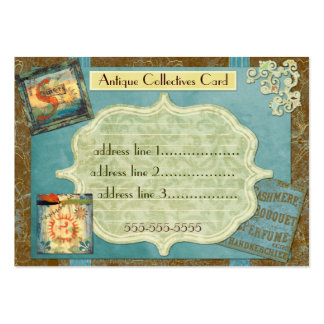 Antique Collectives Custom Large Business Cards (Pack Of 100)