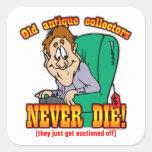 Antique Collectors Square Sticker