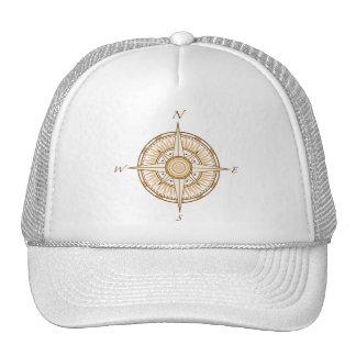 Antique Compass Hat