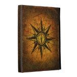 Antique Compass Rose iPad Folio Case