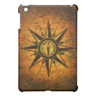 Antique Compass Rose iPad Mini Cases