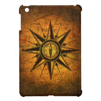 Antique Compass Rose iPad Mini Cases