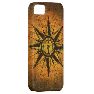 Antique Compass Rose iPhone SE/5/5s Case