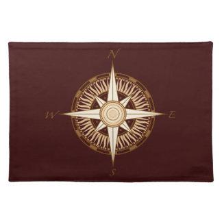 Antique Compass Rose Placemat