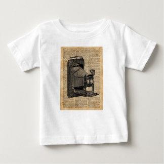 Antique Conley Camera,Vintage Encyclopedia Book Pa Baby T-Shirt
