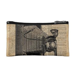 Antique Conley Camera,Vintage Encyclopedia Book Pa Cosmetic Bag