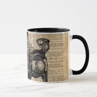 Antique Conley Camera,Vintage Encyclopedia Book Pa Mug
