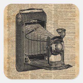 Antique Conley Camera,Vintage Encyclopedia Book Pa Square Sticker