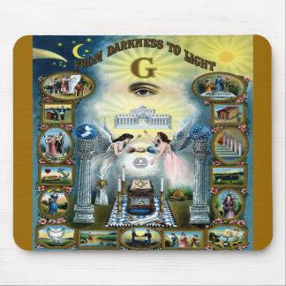 Antique Craft Freemasonry Masonic Hazen Mouse Pad