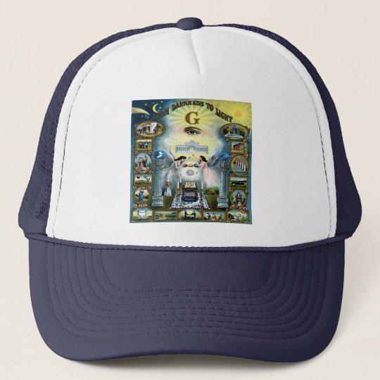 Antique Craft Freemasonry Masonic Hazen Trucker Hat