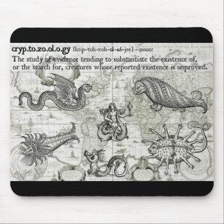 Antique Cryptozoology Mousepad