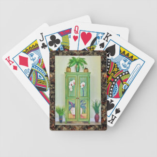 Antique Cupboard Still Life Playing Cards