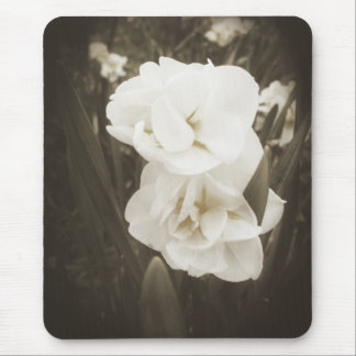 Antique Daffodil Mouse Pad