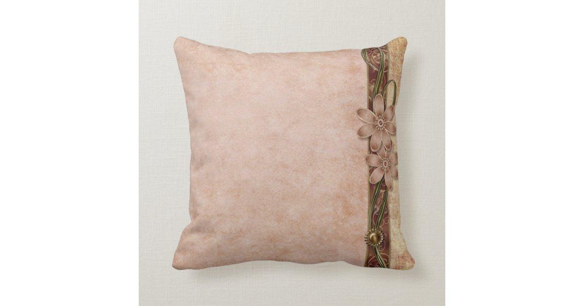 Antique Daisy Throw Pillow Zazzle