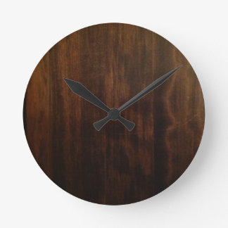 Antique Dark Wood Design Wall Clocks