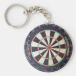 antique dart key chain