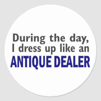 ANTIQUE DEALER During The Day Stickers
