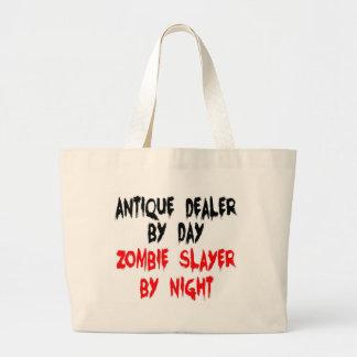 Antique Dealer Zombie Slayer Large Tote Bag