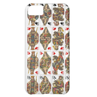 Antique Deck of Cards iPhone 5C Covers