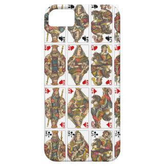 Antique Deck of Cards iPhone SE/5/5s Case