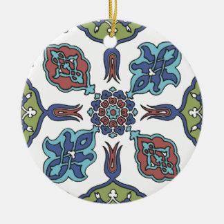Antique Decorative Flower Floral Design Ceramic Ornament