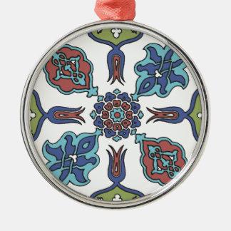 Antique Decorative Flower Floral Design Metal Ornament