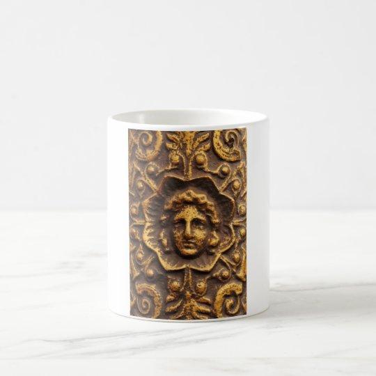 Antique design coffee mug