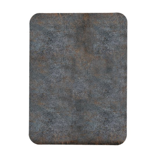 Antique Distressed Leather Book Magnet