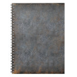 Antique Distressed Leather Book Spiral Notebooks