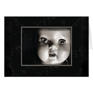 Antique Doll Card