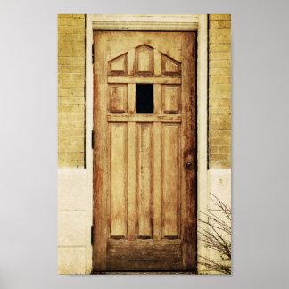 Antique door architecture Photograph Art Photo Print