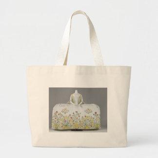 Antique dress - museum piece jumbo tote bag