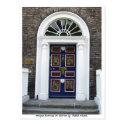 Antique Dublin Doorway, Merrion Square