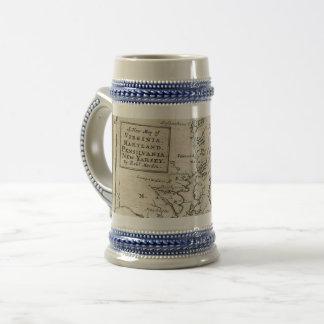 Antique East Coast Map mug