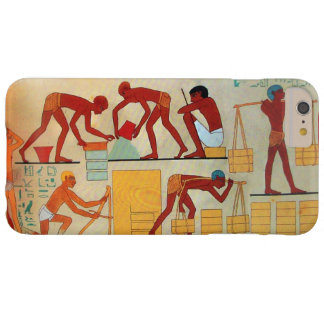 ANTIQUE EGYPT ARCHITECTURAL CONSTRUCTION BARELY THERE iPhone 6 PLUS CASE