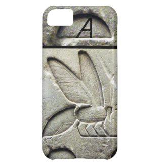 ANTIQUE EGYPTIAN HONEY BEE BEEKEEPER MONOGRAM iPhone 5C CASES