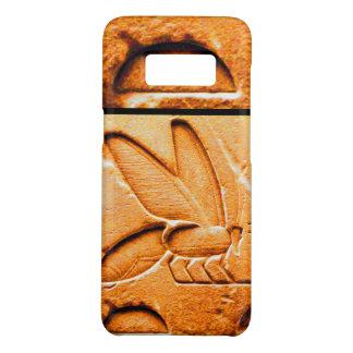 ANTIQUE EGYPTIAN HONEY BEE BEEKEEPER Orange Yellow Case-Mate Samsung Galaxy S8 Case