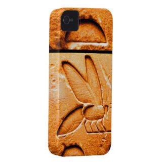 ANTIQUE EGYPTIAN HONEY BEE BEEKEEPER Orange Yellow iPhone 4 Case