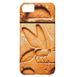 ANTIQUE EGYPTIAN HONEY BEE BEEKEEPER Orange Yellow iPhone 5C Cover