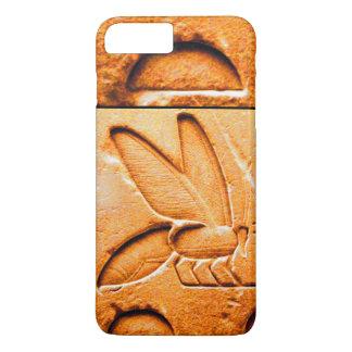 ANTIQUE EGYPTIAN HONEY BEE BEEKEEPER Orange Yellow iPhone 8 Plus/7 Plus Case