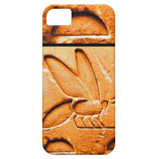 ANTIQUE EGYPTIAN HONEY BEE BEEKEEPER Orange Yellow iPhone SE/5/5s Case